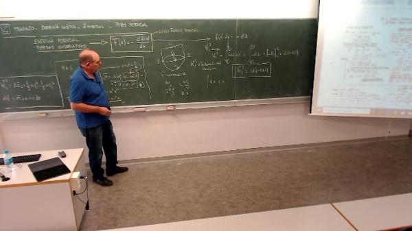 Física 1. Lección 2. Trabajo y energía potencial en Fuerzas conservativas