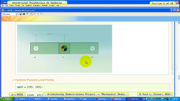 Simulación Mecanismo a_c_0658 con Mechanica - 06 de 18