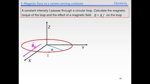 Elec-4-Magnetic Field-S49-Torque example