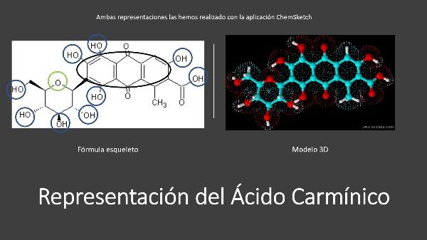 Ácido carmínico (Liset Sivera y Alicia Ruiz)