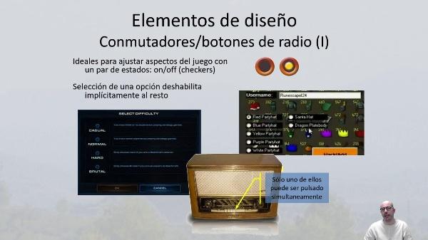 Recursos de Inerfaz de usuario. Deslizadores, radioButton, checkers y listas