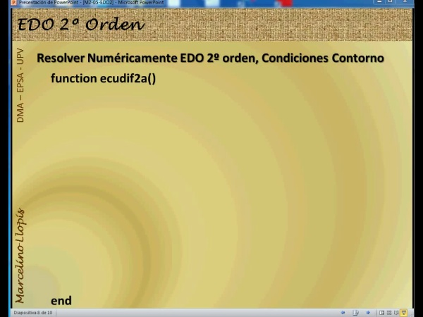 M2-EDO2-05 condiciones de contorno sol num