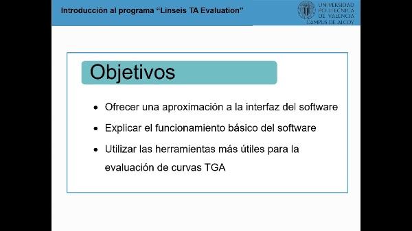 Introducción al programa Linseis TA Evaluation_v2