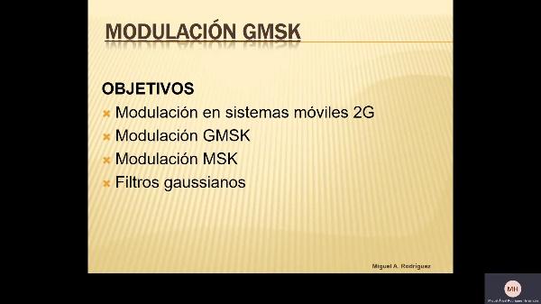 Modulación GMSK