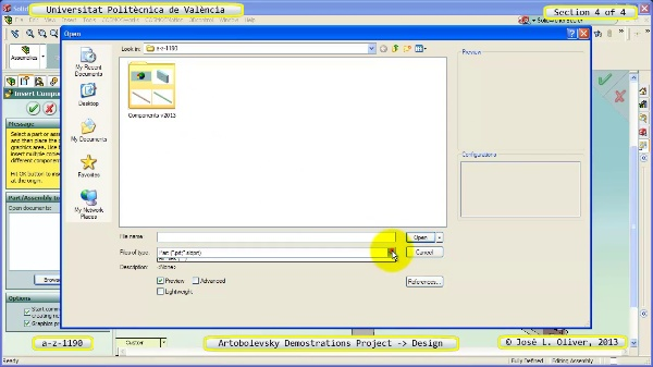 Creación Virtual Mecanismo a_z_1190 con Solidworks - 4 de 4
