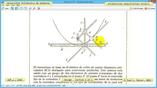 Creación Virtual Mecanismo a-z-1196 con Solidworks - 2 de 6