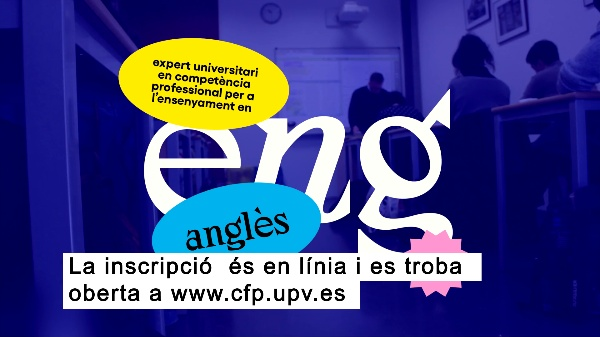 00:00:32 Expert Universitari en Competència Professional per a l¿Ensenyament en Anglés