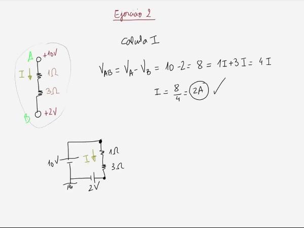 Teoría de Circuitos: 2.11.3.- Ejercicio 3 Masa/Tierra