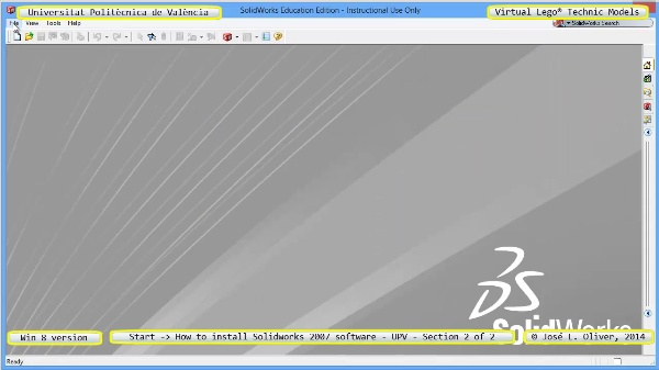 vLTm start how-to-install-solidoworks-2007-software-UPV-win8 no-audio 2 of 2