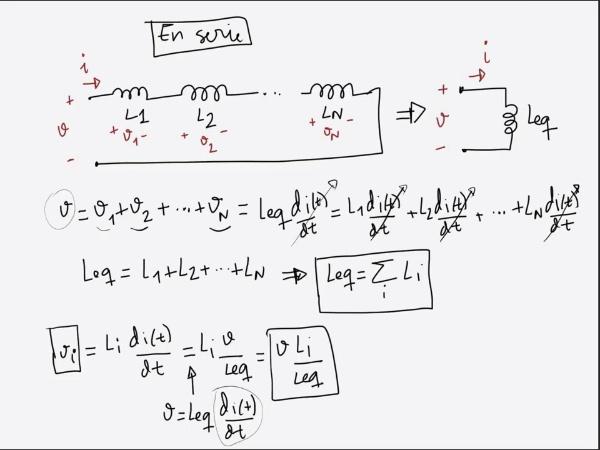 Teoría de circuitos 1. Lección 4. 6-2 Agrupación de bobinas en paralelo