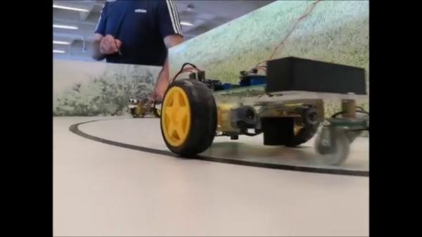 Coche robot control remoto