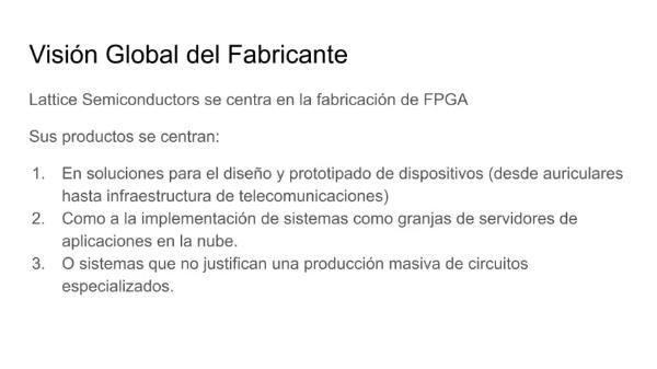 Presentación de las FPGA MachOX3D