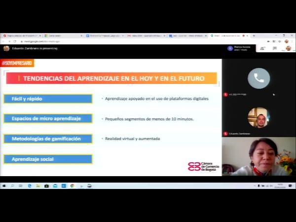 SPOC Gestión de MOOC. Cámara de comercio de Bogotá. Modelo de aprendizaje
