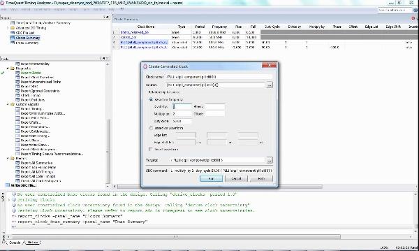 Análisis temporal de un sistema digital con NIOS2
