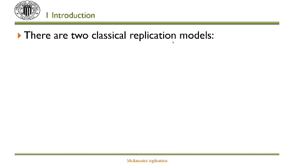 Multi-master replication