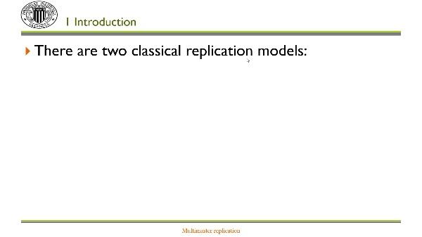 Multi-master replication