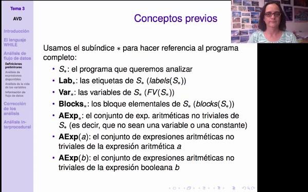 AVD - Análisis estático - Notación y propiedades