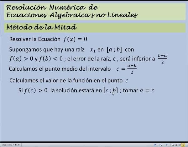 MN-EA-08-02 Método de la Mitad