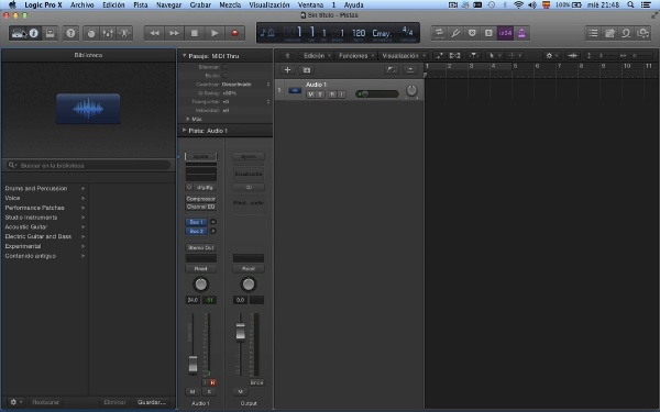 Tutorial Logic Pro X 7.1 Tempo y altura: utilización de apple loops de audio
