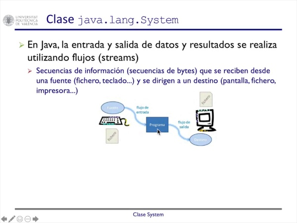 Clase System de Java