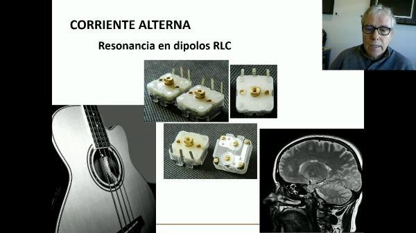Resonancia de dipolos RLC