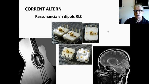 Corrent altern. Ressonància en un dipol RLC R