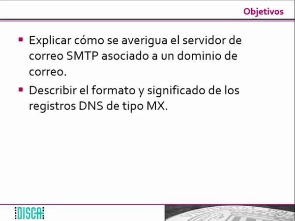 Soporte del DNS al servicio de correo. Los registros MX