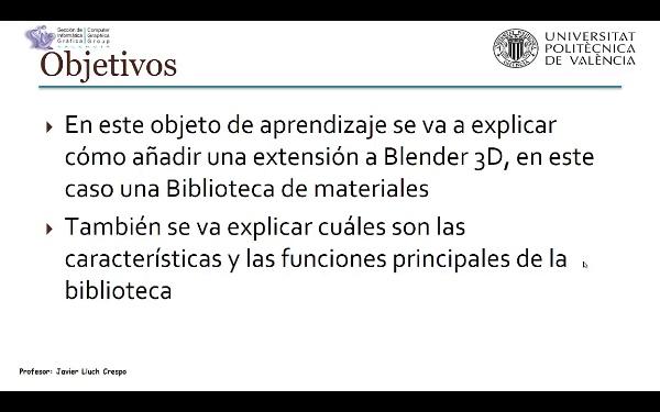 Librería de materiales en Blender 3D