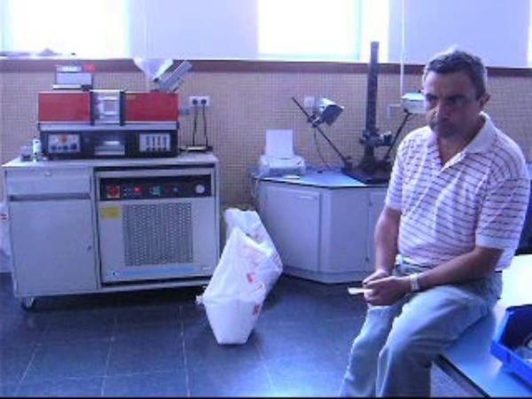 Preparación muestras reciclado: Inyección