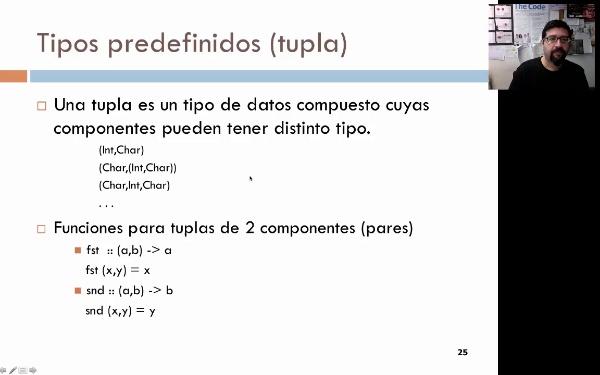 Tema 3. Programación funcional: el tipo predefinido Tupla