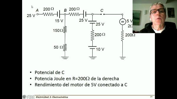T3E. Método de mallas. Resistencia y generador equivalente C