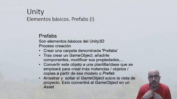 Prefabs en Unity 3D