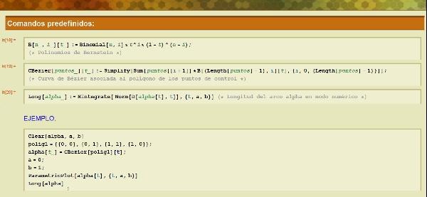 Curvas de Bézier y Splines con Mathematica