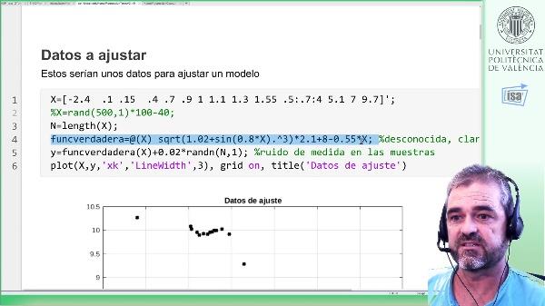 Modelos semiparamétricos (Kernel+regresores): caso de estudio Matlab