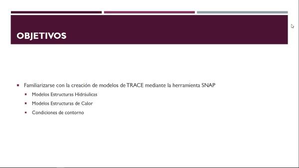 Modelo de TRACE mediante SNAP