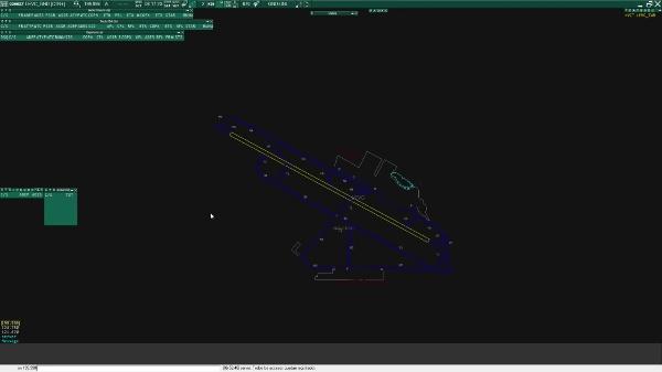 Configuración de una dependencia de control en Euroscope