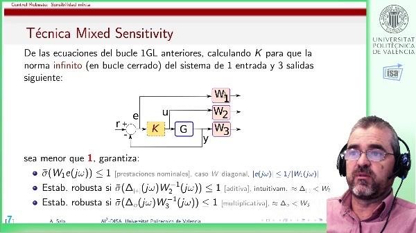 Sensibilidad mixta (discusión): problemas por cancelación y ausencia de prestaciones robustas