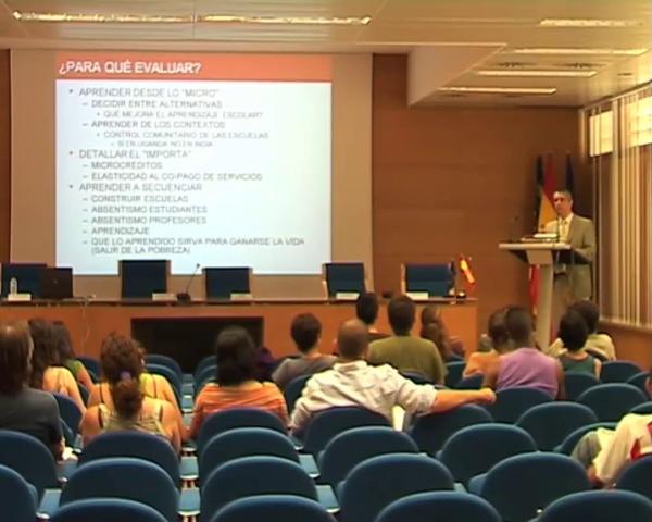 José María Larrú - Qué es, cómo se mide y qué está aportando a la cooperación para el desarrollo - parte 1 de 3