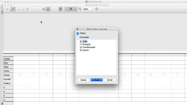 Consultas en LibreOffice
