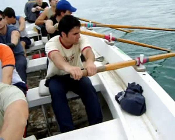 Cursillo remo 2008