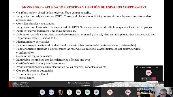 Monnegre - Introducción  a la aplicación de reserva de espacios UPV