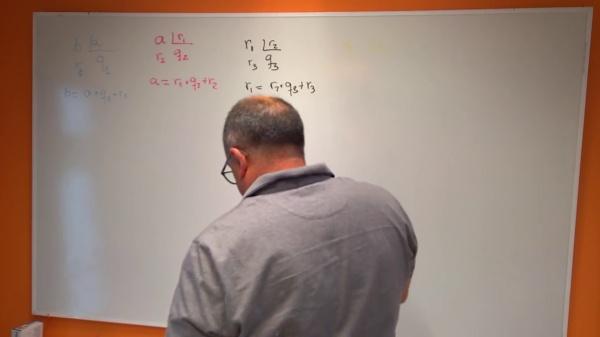 Fracciones continuas y Algoritmo de Euclides 1