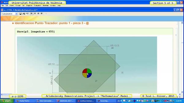Solución Cinemática Simbólica a_z_1196 con Mathematica - 5 de 5