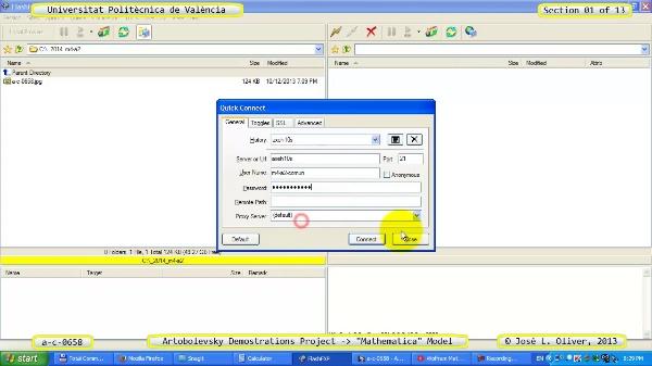 Solución Cinemática Simbólica a_c_0658 con Mathematica -B- 01 de 13