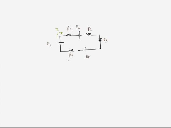 Teoría de Circuitos 1. Lección 3. 1.3.2 Primera ley Kirchoff ejercicio 1