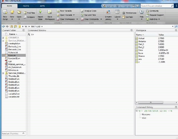 MN-DE-09- Revisión de Derivadas con Mat Lab