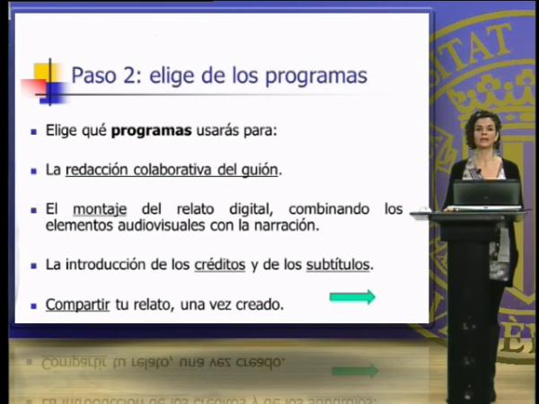 Elección del tema y estructura, de los programas y de los recursos para la creación de un relato digital en clase de ELE