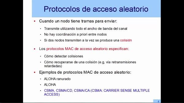 Control de acceso aleatorio