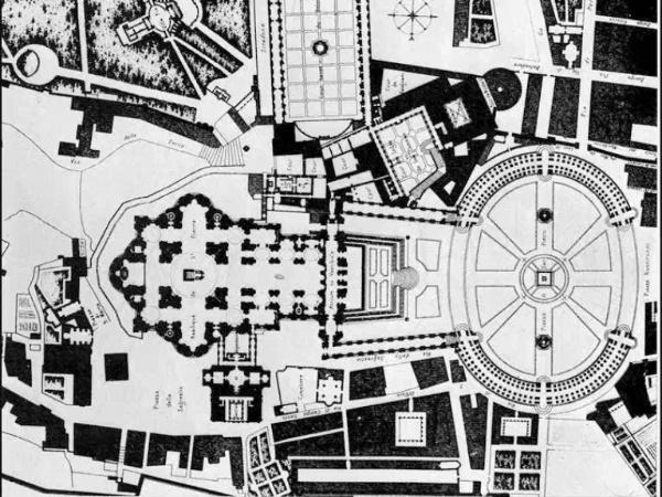 Bernini. Plaza de S. Pedro del Vaticano