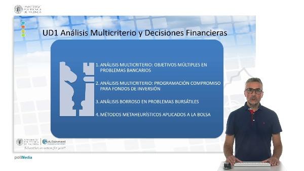 Contextualización. Modelos multicriterio aplicados a la gestión de carteras